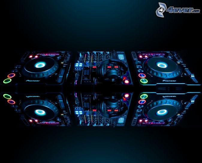 DJ Konsole Pioneer Kopfhrer 674x542
