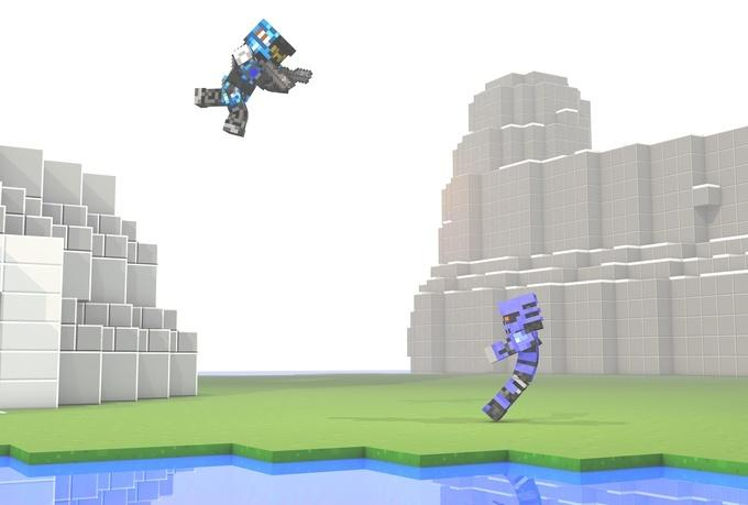 will create a 3d minecraft wallpaper with your skin for 5 680x459
