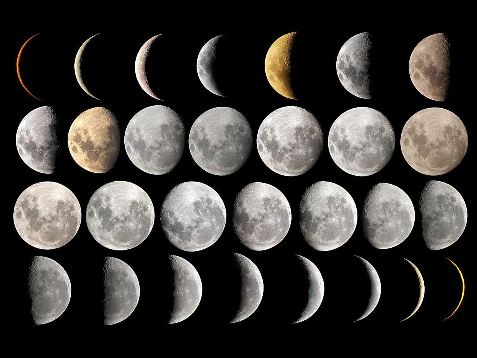 Tag Moon Phases Photos Images Wallpapers and Pictures for 1600x1200