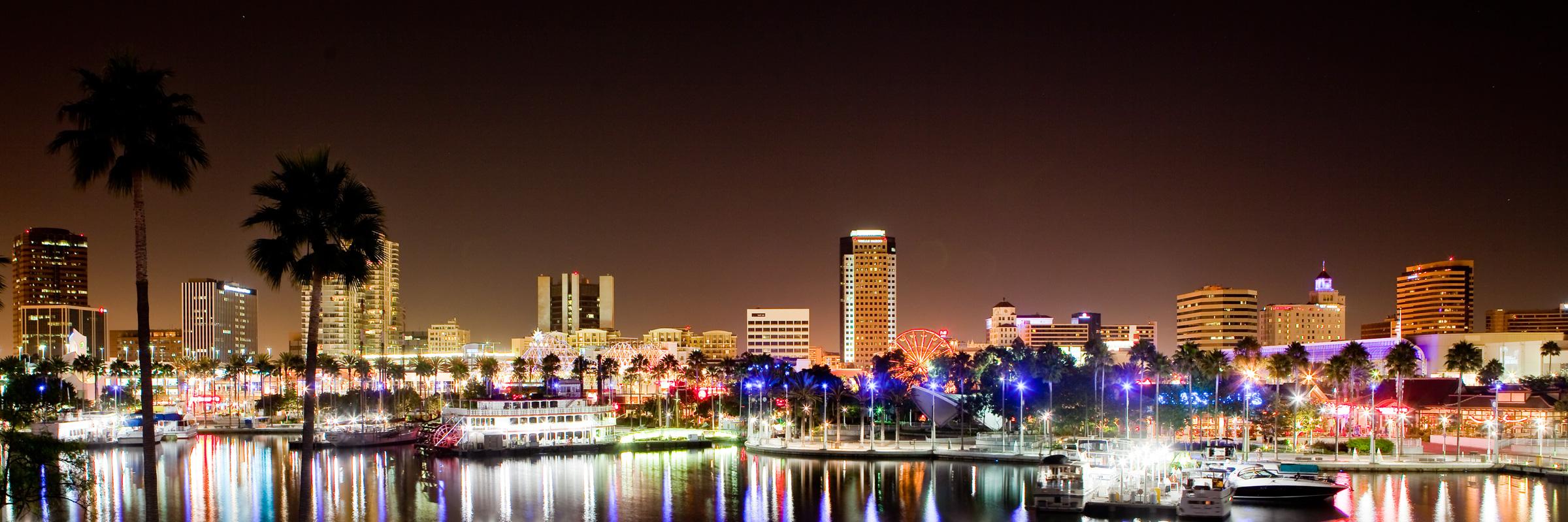High Quality Long Beach California Wallpaper Full HD Pictures 2400x800