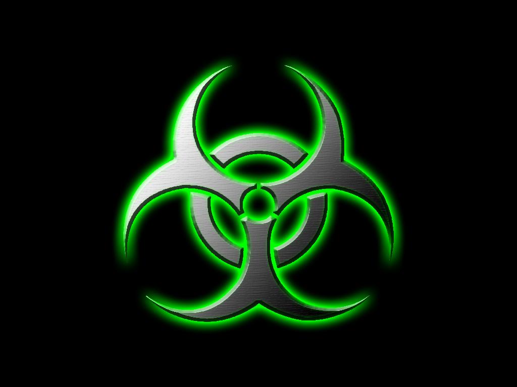 Green Biohazard Wallpaper Green Biohazard by 1024x768