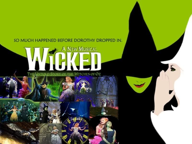 Wicked Musical Wallpaper Wicked Musical Desktop Background 800x600