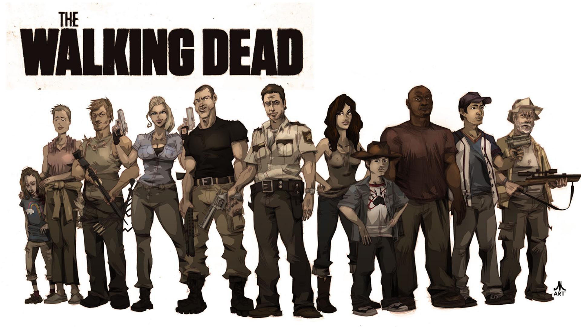 50 The Walking Dead Animated Wallpaper On Wallpapersafari