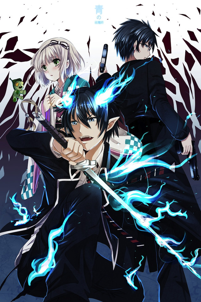 43 blue exorcist wallpaper iphone on wallpapersafari - Blue exorcist wallpaper ...