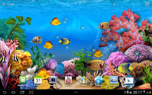 Aquarium live wallpaper   Android Apps Games on Brothersoftcom 512x320