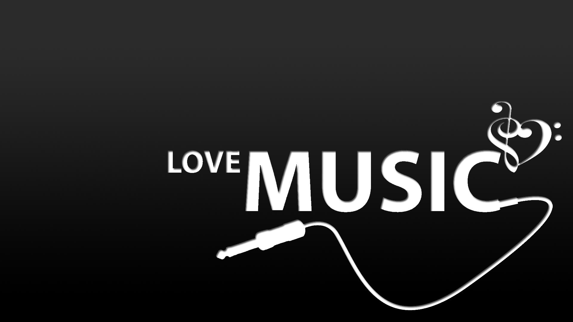 Love Music Wallpaper 1920x1080