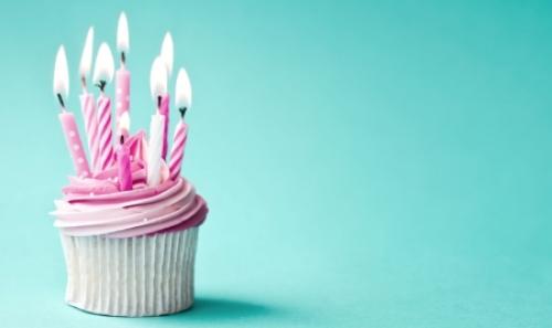 Birthday Cupcake Wallpaper 6 500x297