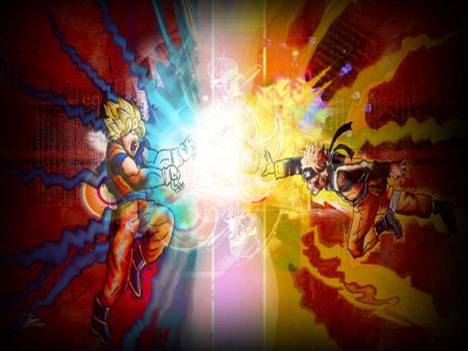 Naruto Vs Goku wallpaper Photo by super vegetto bucket Photobucket 960x720