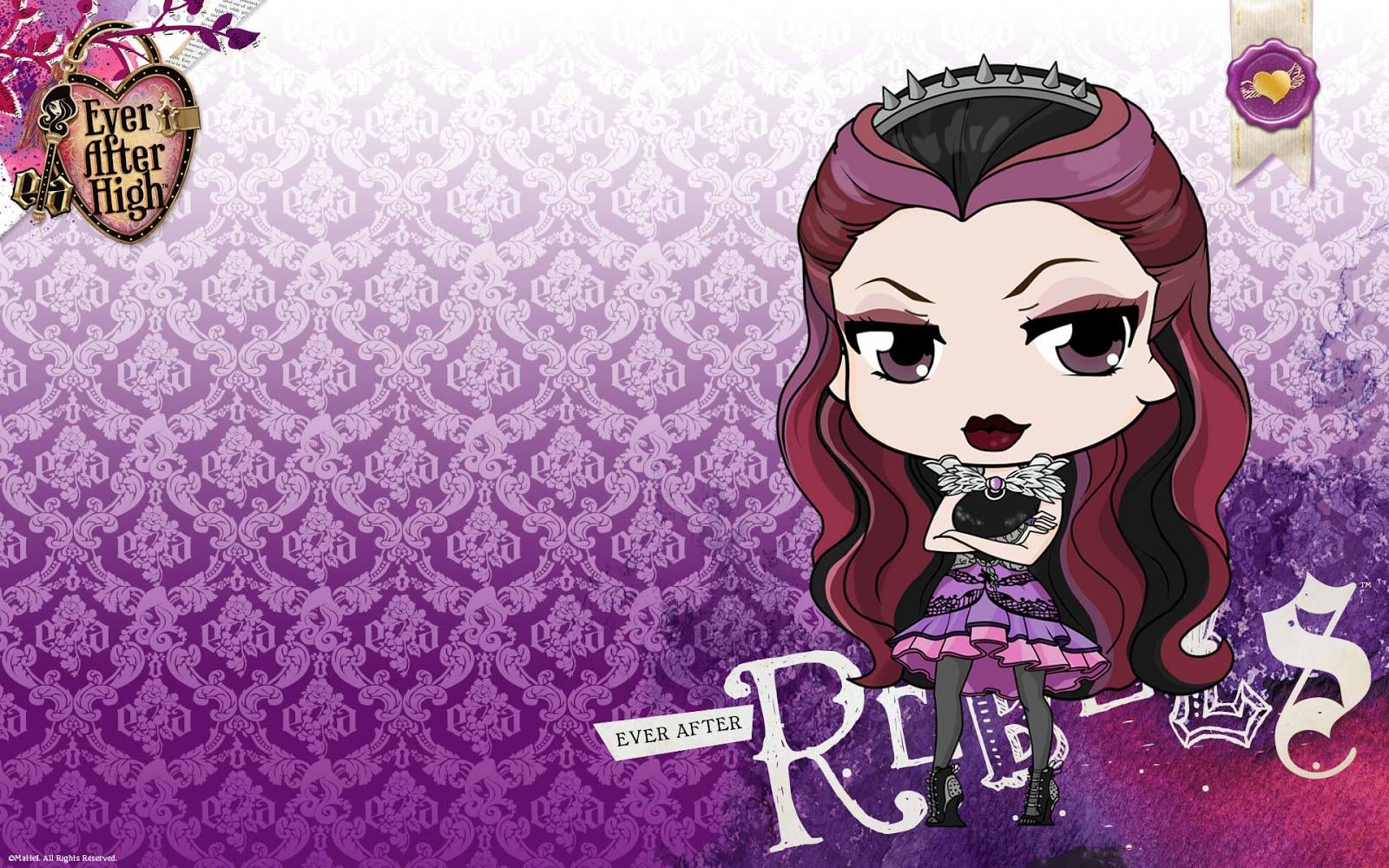 Ever After High Raven Queen Wallpaper Ever after high raven queen 1600x1000