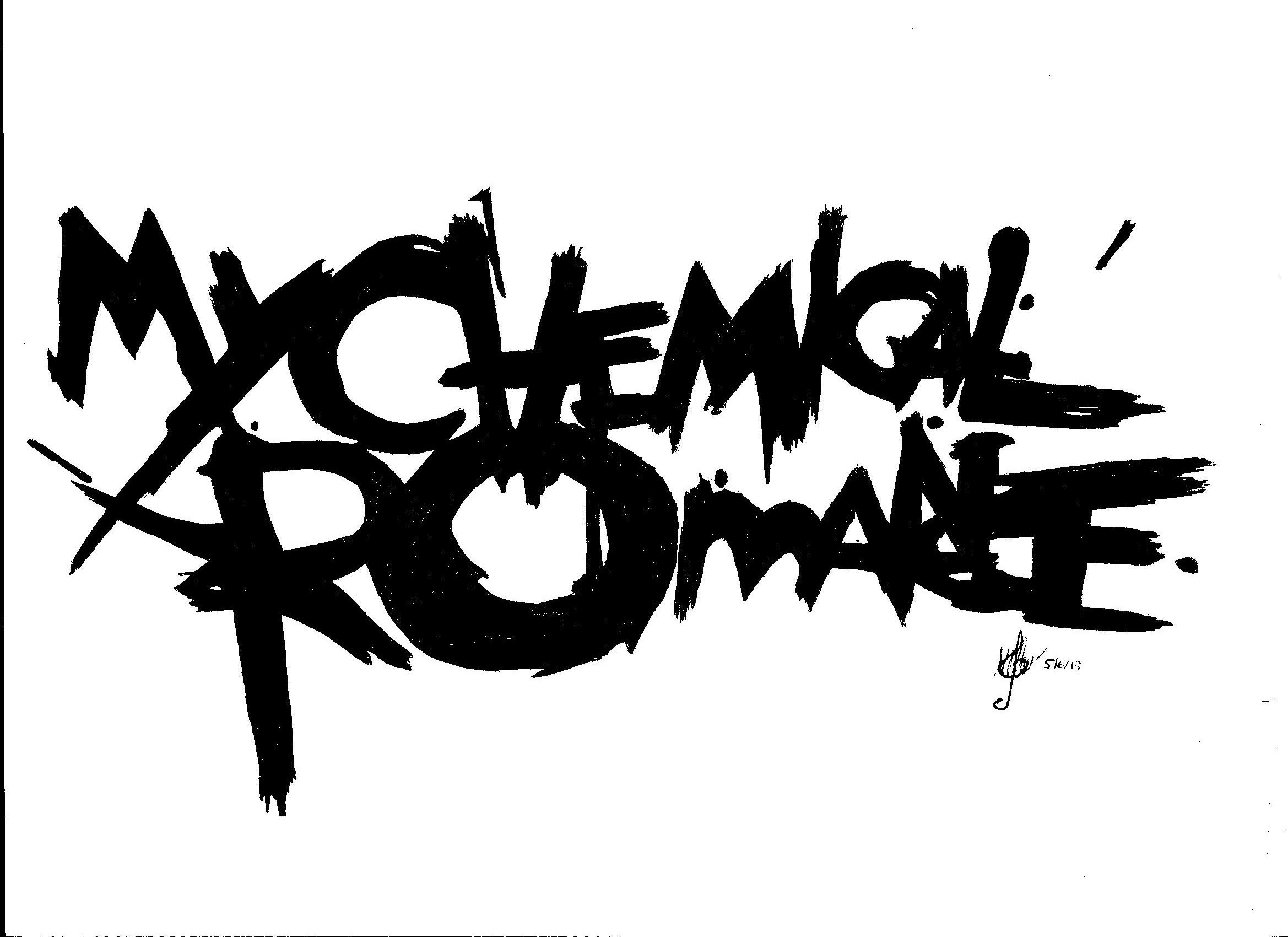 My Chemical Romance Logo by selvaya guetta 2338x1700