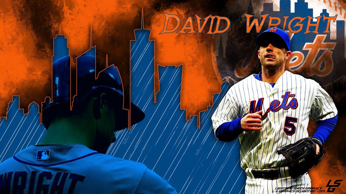 David Wright Desktop Wallpaper by L S Graphics 1191x670