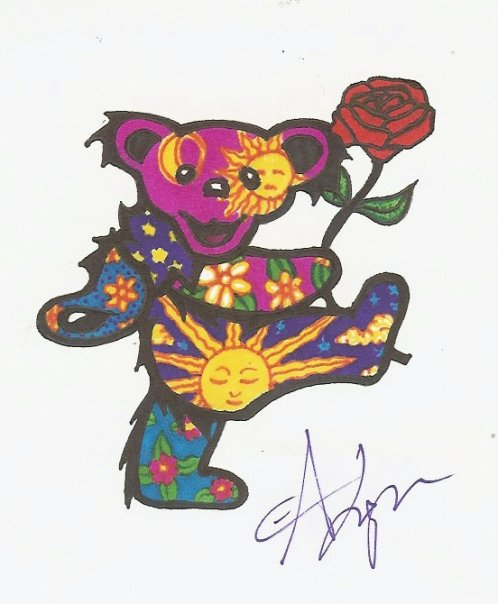 Pin Grateful Dead Wallpaper Lilzeu Tattoo De 498x604