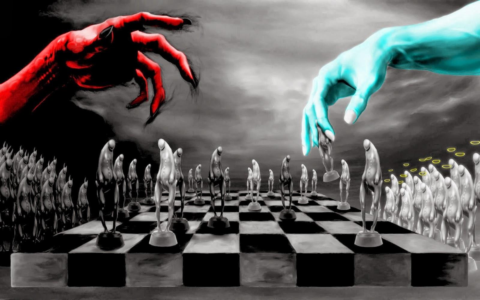 3D Chess Board Wallpaper - WallpaperSafari