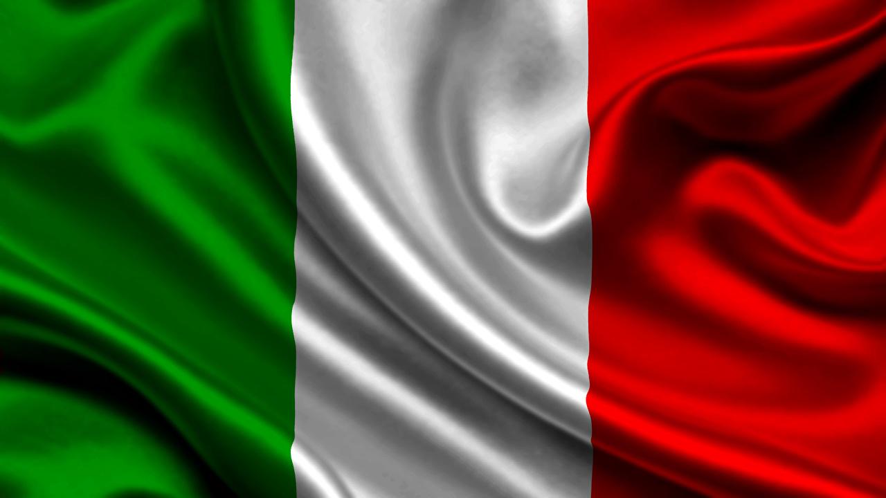 Wallpaper Italy Flag Stripes 1280x720