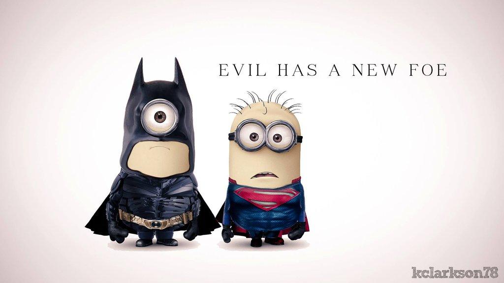 Download Batman And Superman Minions HD Wallpaper Search more high 1024x576