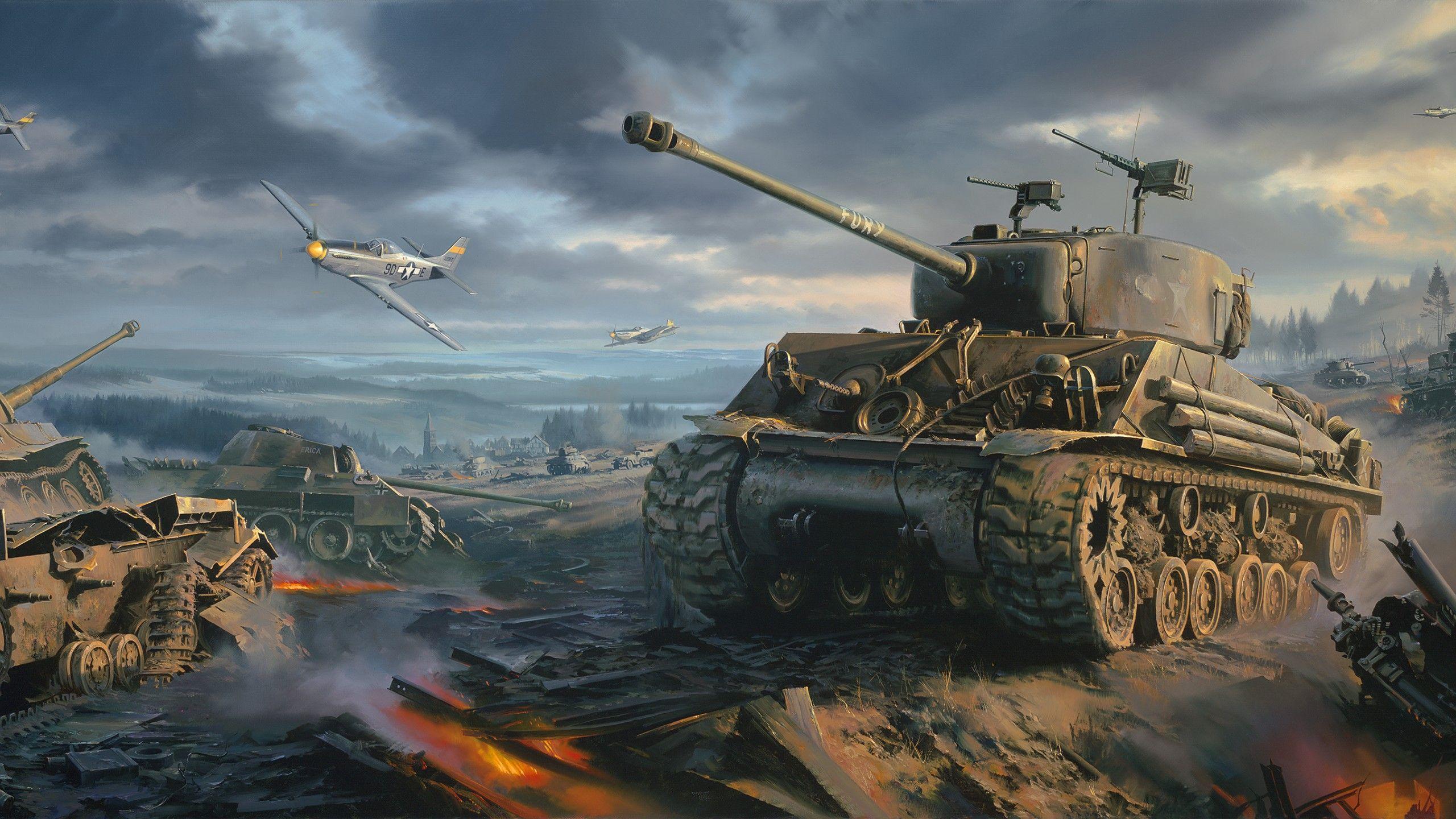 WW2 Tank Wallpapers   Top WW2 Tank Backgrounds   WallpaperAccess 2560x1440