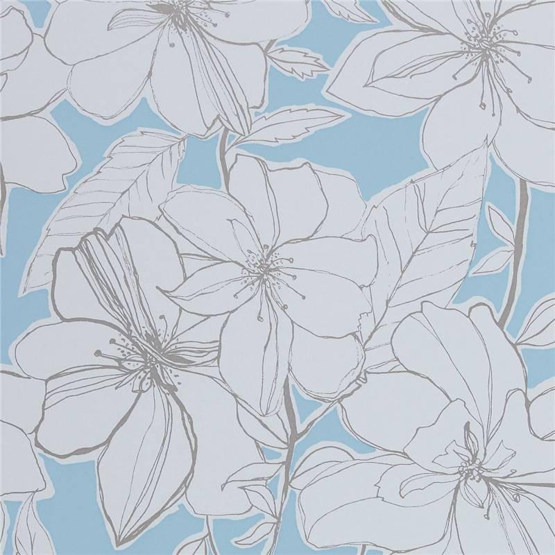 Home Blue Cream   60129   Spirit   Boutique   Harlequin Wallpaper 800x800