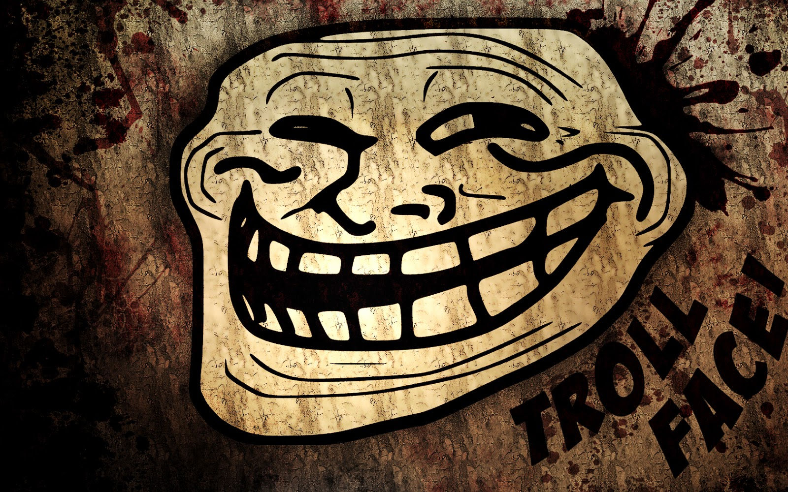 Funny Trollface Meme HD Wallpapers HQ Wallpapers   Wallpapers 1600x1000
