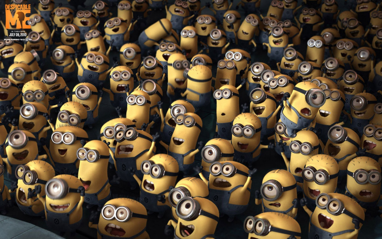 Free download Crowd Despicable me, cartoon movie wallpapers wallpaper ...