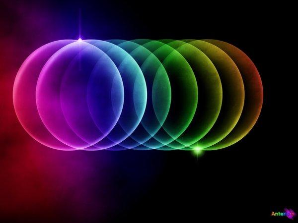 Rainbow Bubbles by Anteman 600x450