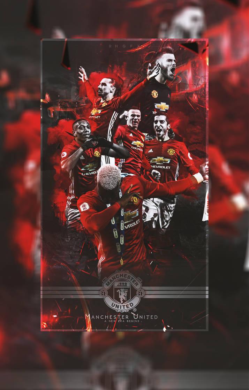 Manchester United Wallpaper 2017 by RHGFX2 714x1119