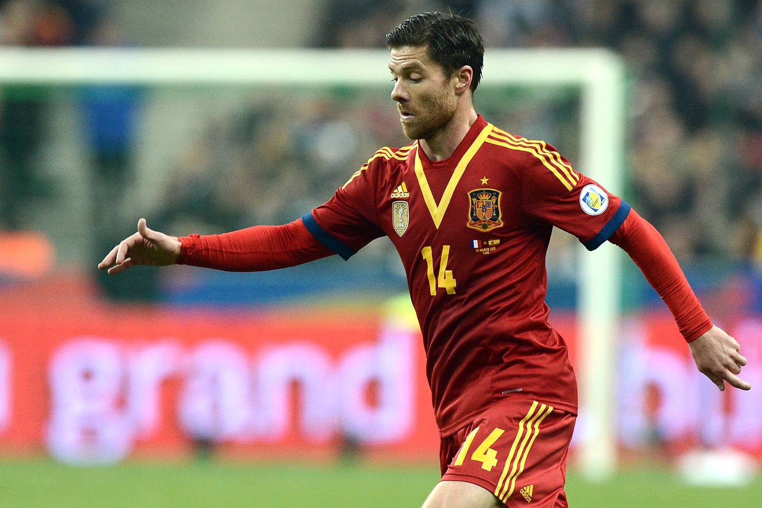 2014 xabi alonso spains wallpapers Desktop Backgrounds for HD 1500x1000