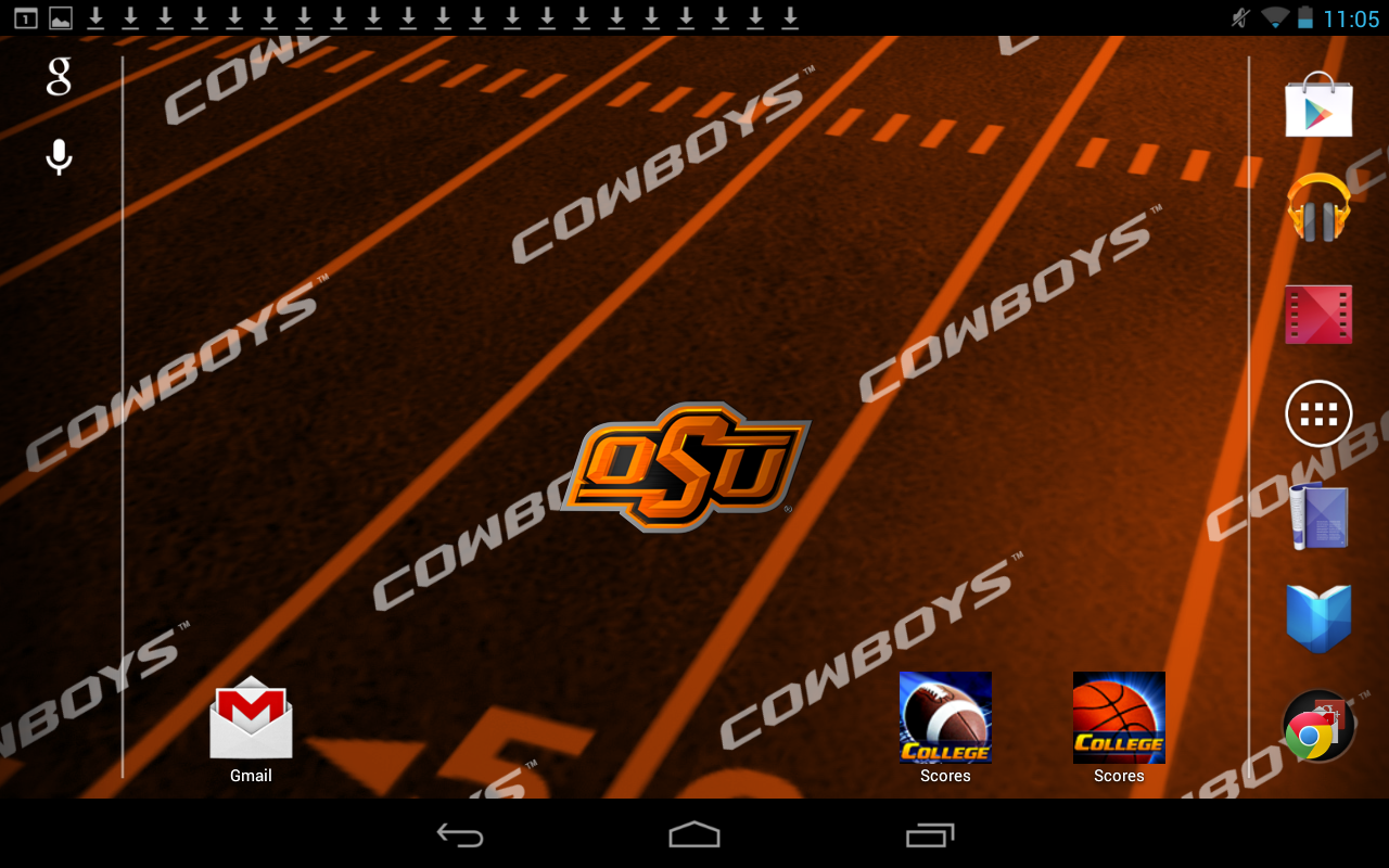 officially licensed oklahoma state cowboys live wallpaper with 1280x800