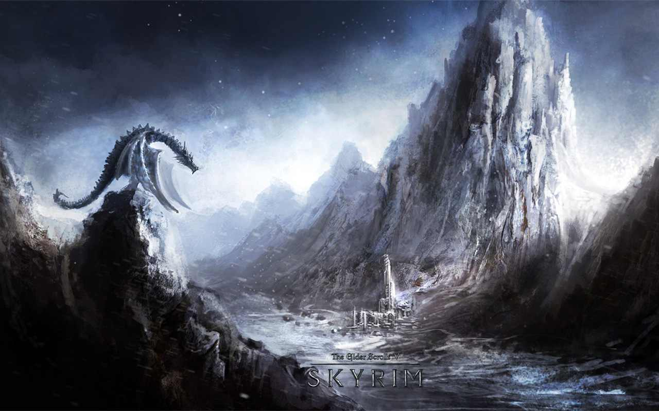 Skyrim HD Wallpapers Backgrounds HQ Wallpapers   Wallpapers 1280x800