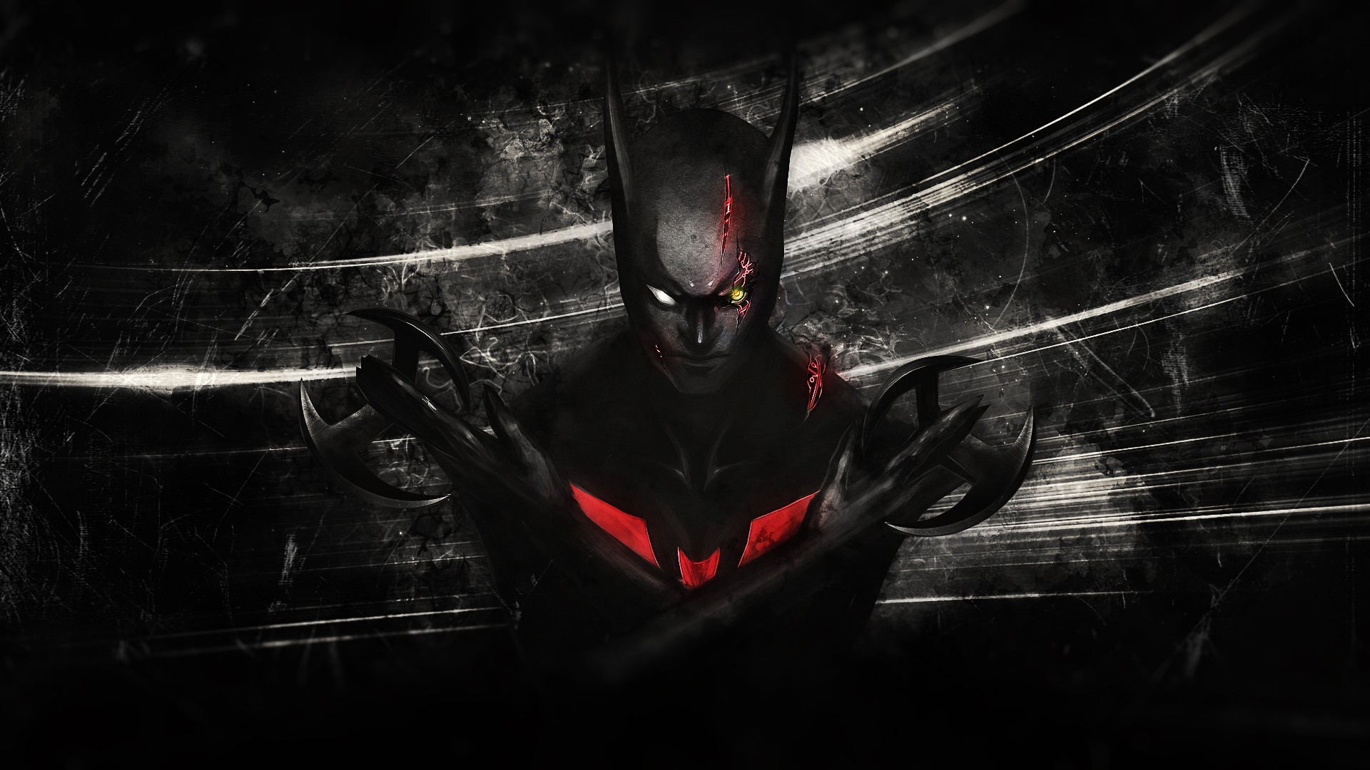 1920x1080 Batman Beyond desktop PC and Mac wallpaper 1920x1080