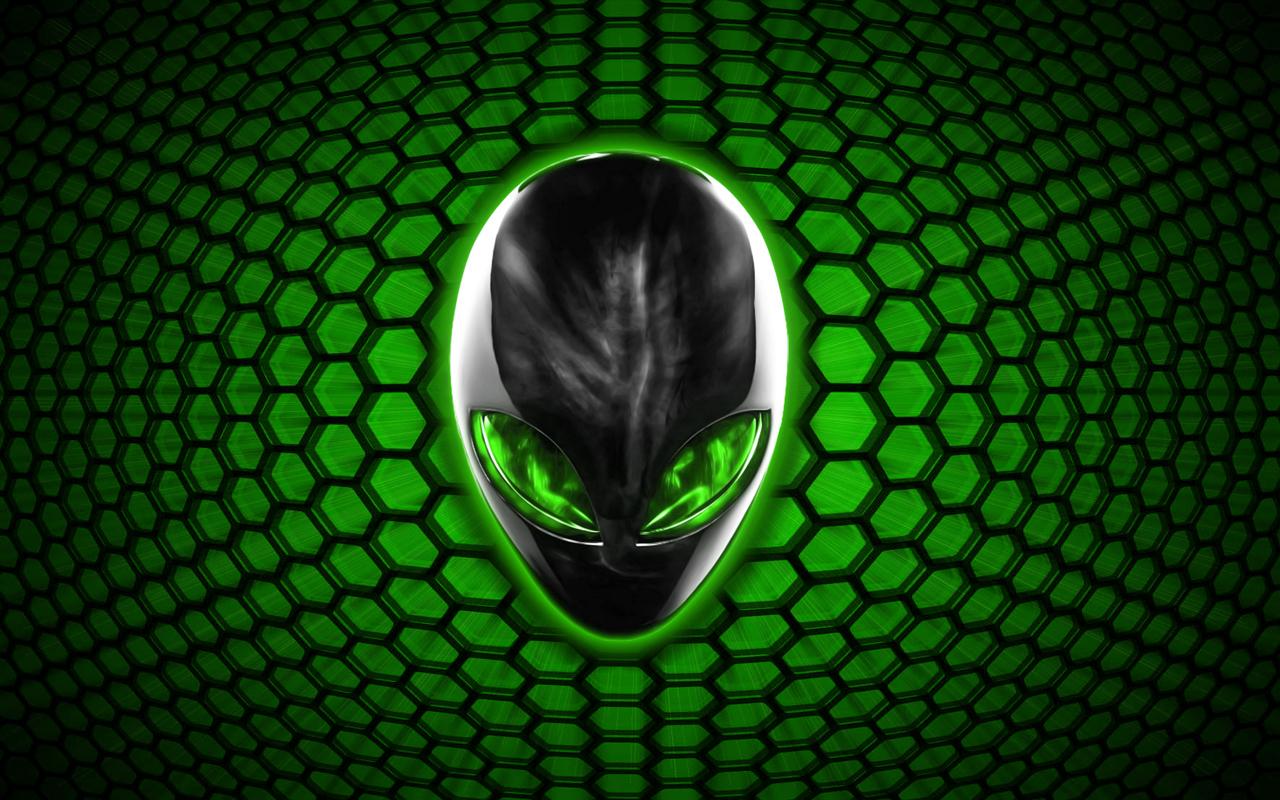 Alienware Bee Green by darkangelkrys 1280x800