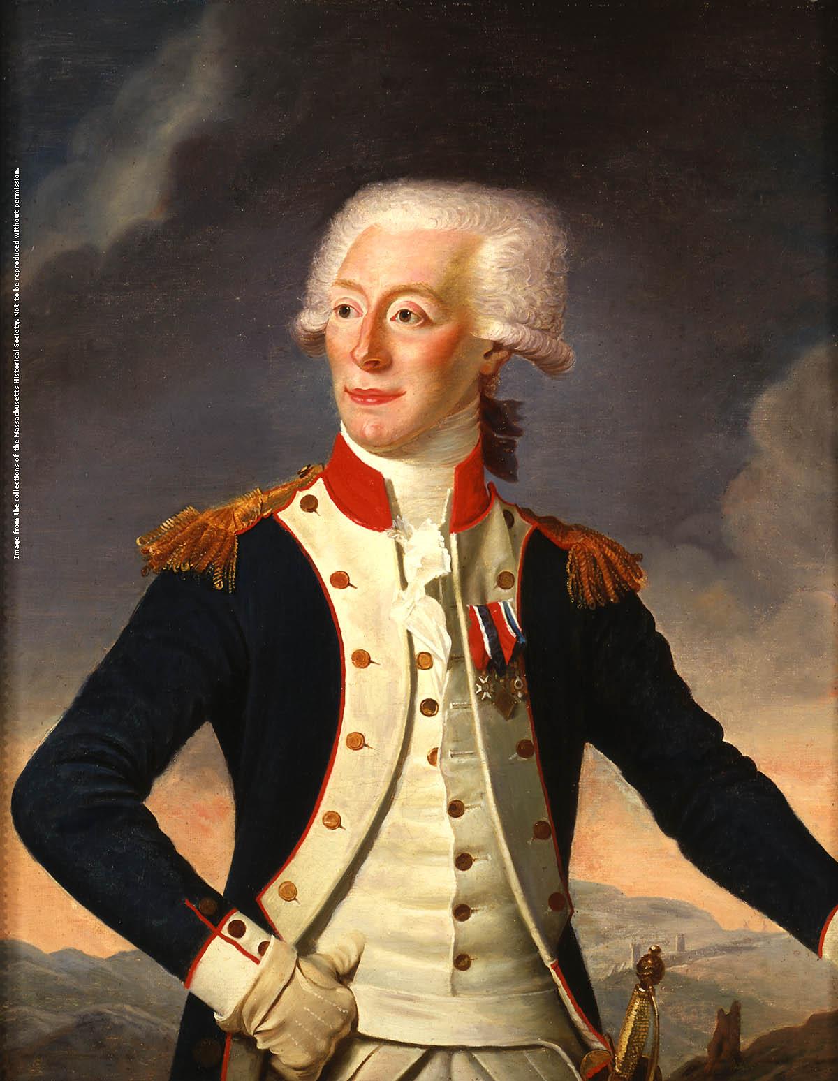 MHS Collections Online Gilbert du Motier marquis de Lafayette 1200x1548
