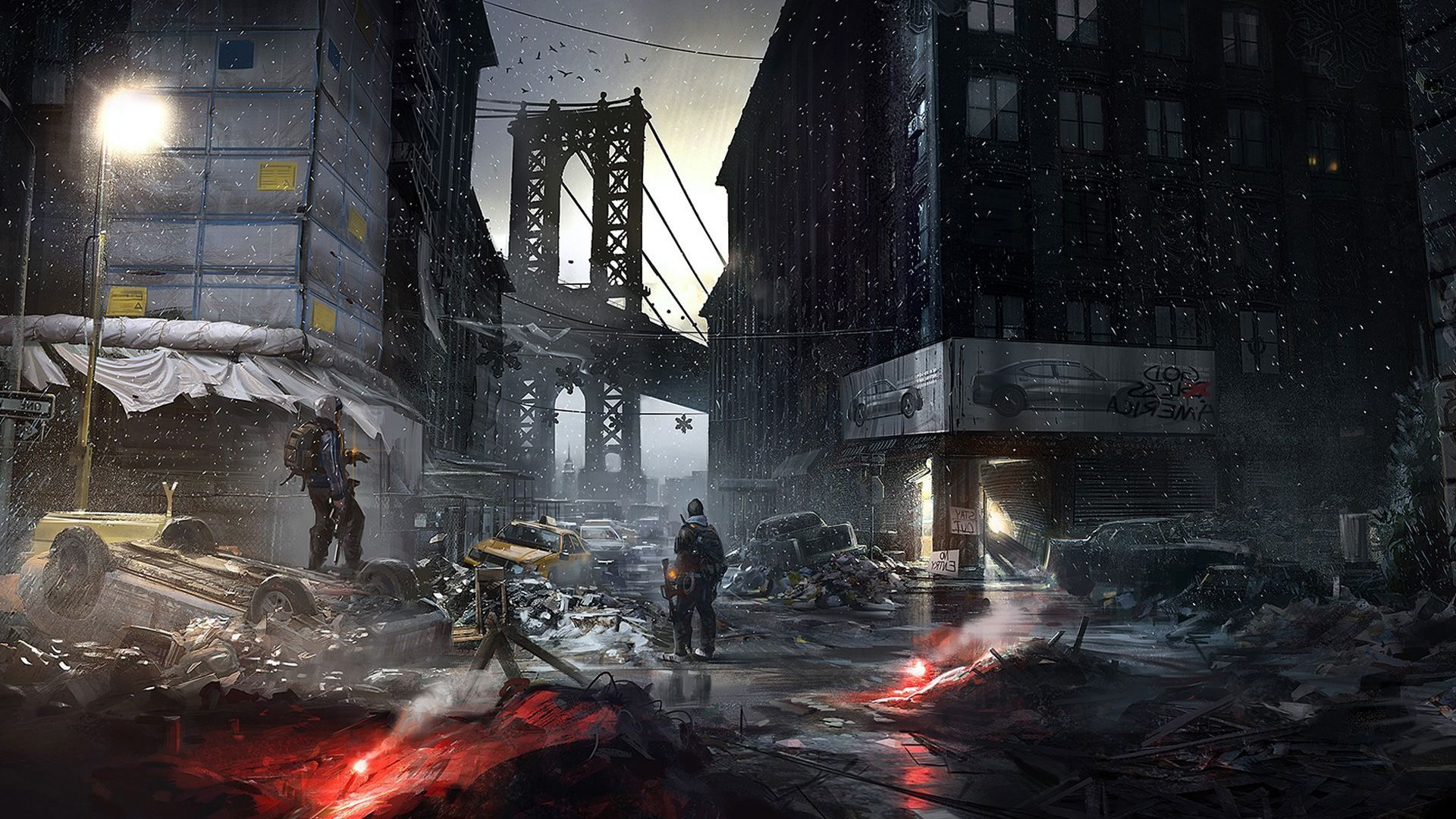 tom clancys the division game hd wallpaper 19201080 1564 Svet 1920x1080