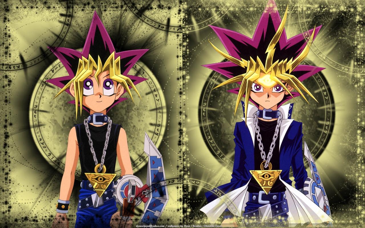 Yugi and YamiAtem   The Anime Kingdom Wallpaper 37249128 1280x800