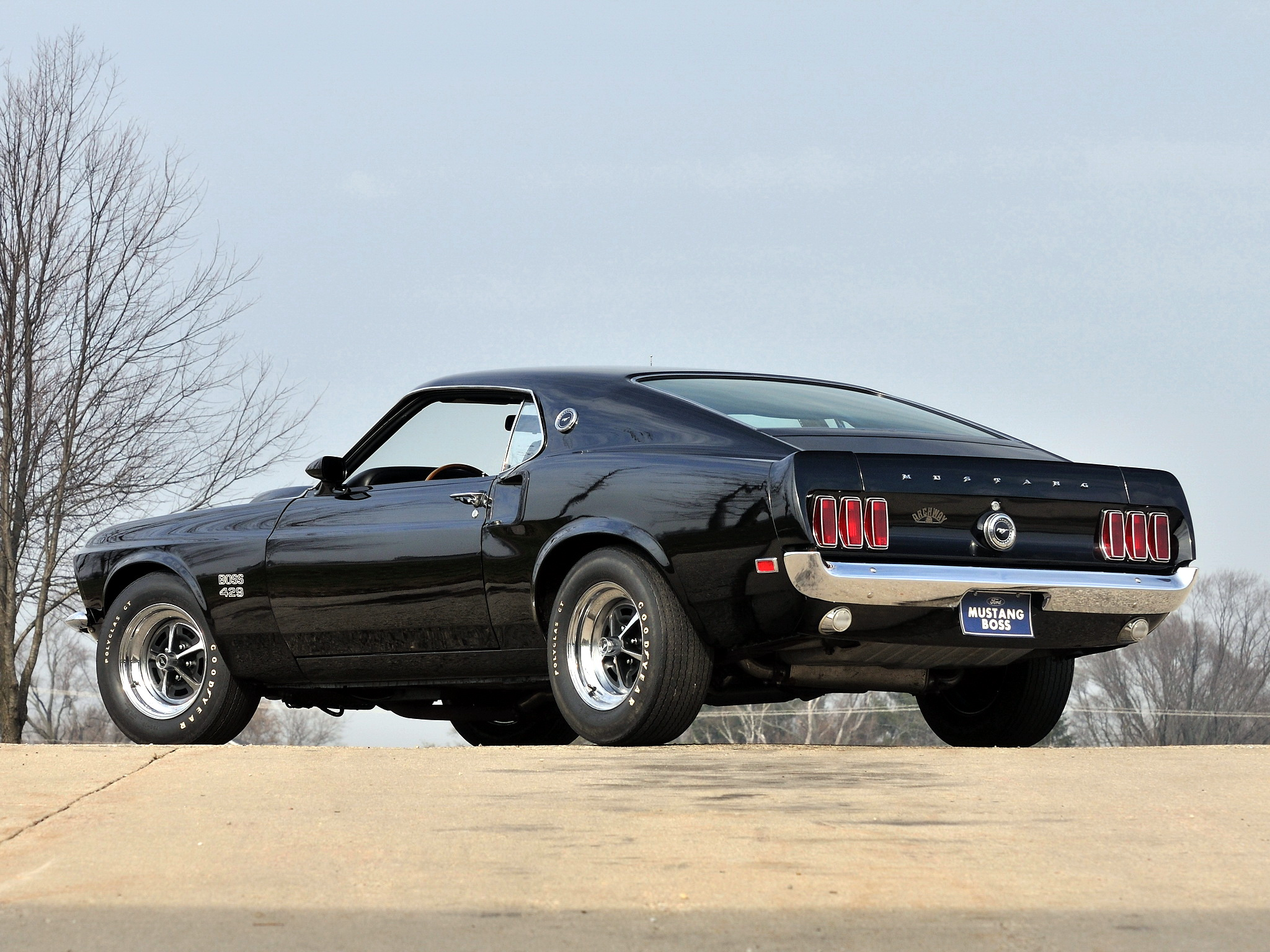 1969 Mustang Boss 429 ford muscle classic wallpaper 2048x1536 2048x1536