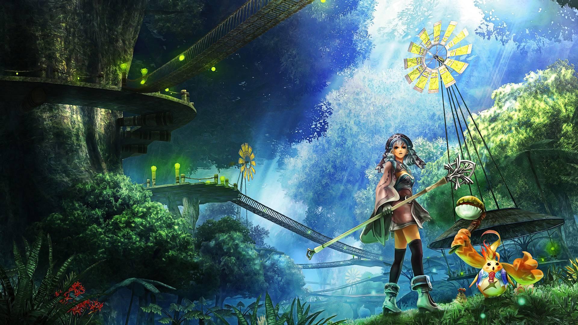 Anime Forest wallpaper   Anime Manga Wallpaper 1920x1080