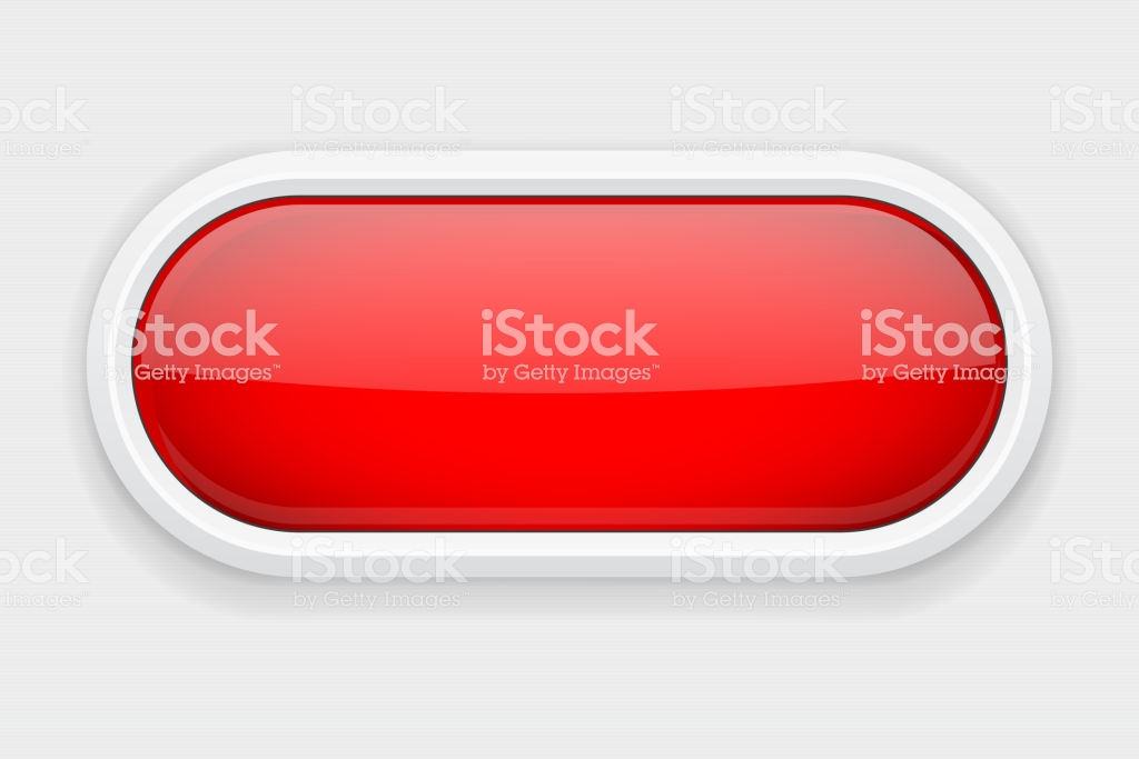 Red Shiny Oval Button On White Matted Background Web Interface 1024x683