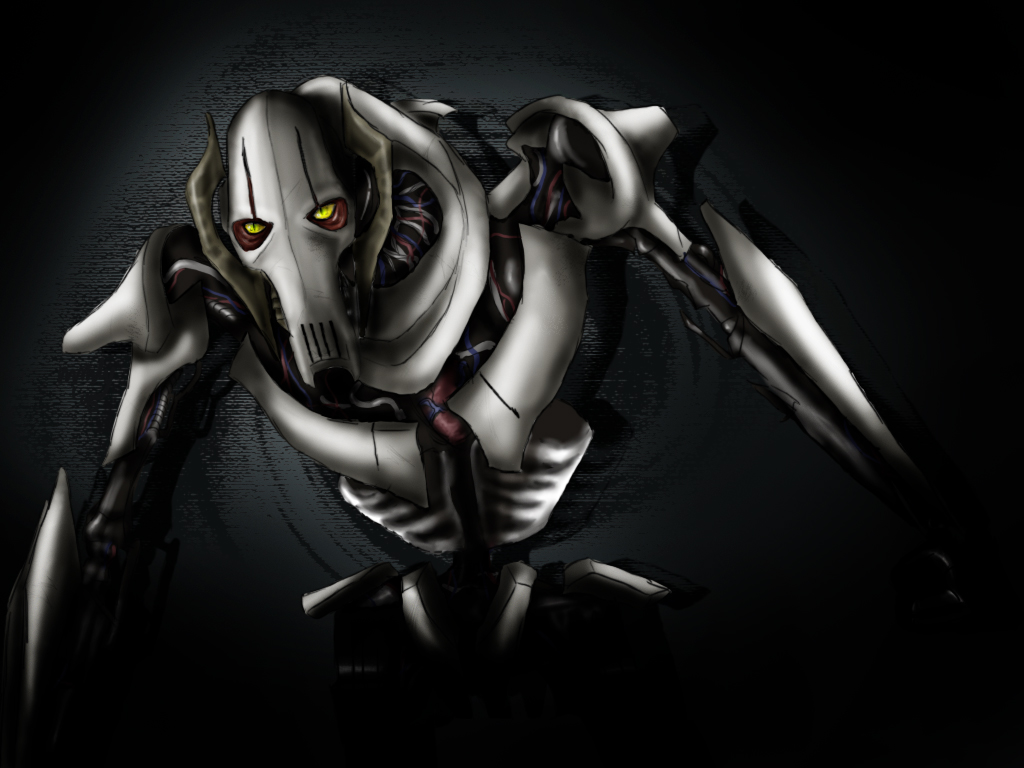 General Grievous by lady voldything 1024x768