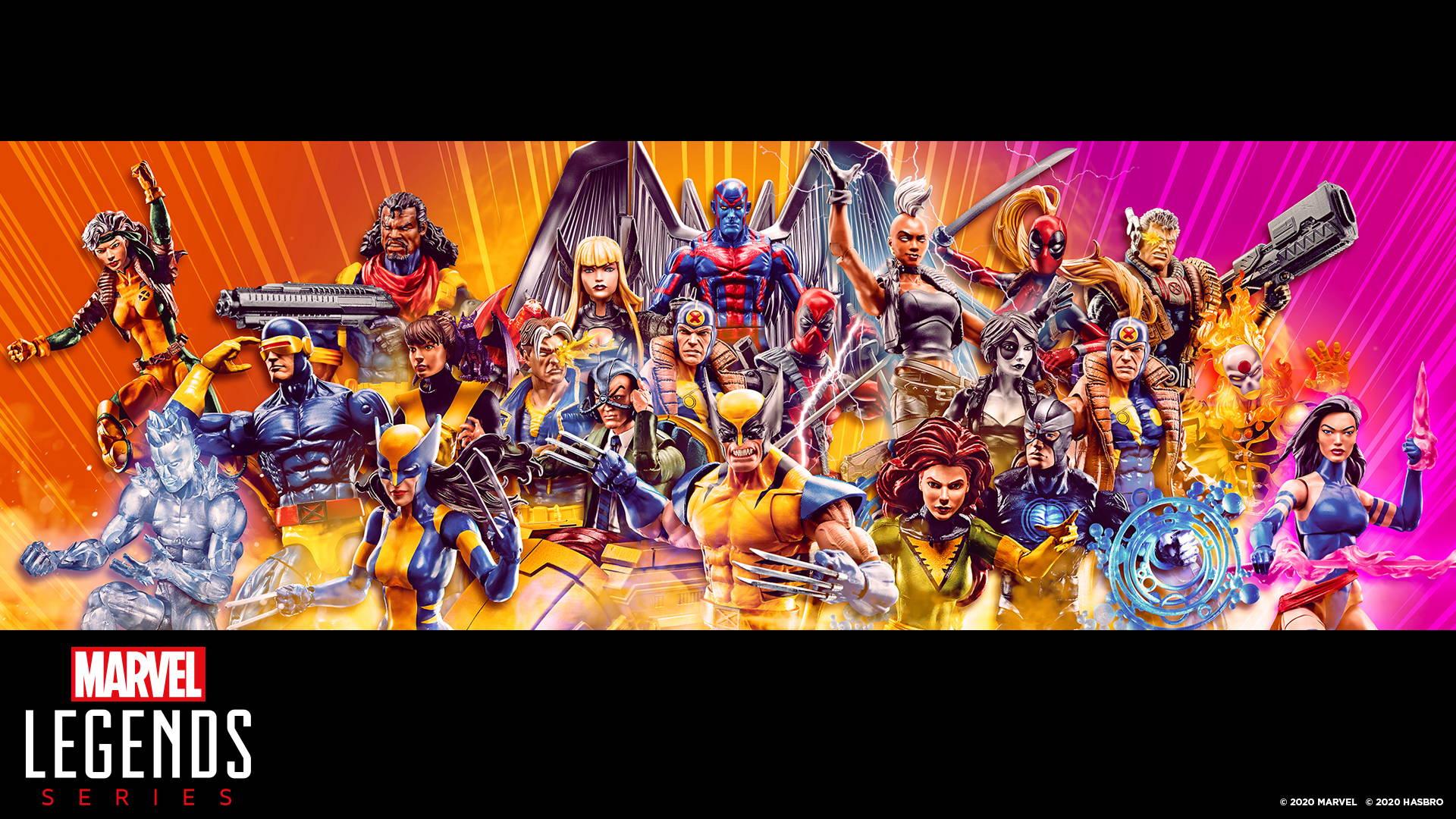 Marvel Legends Virtual Backgrounds Hasbro Pulse 1920x1080