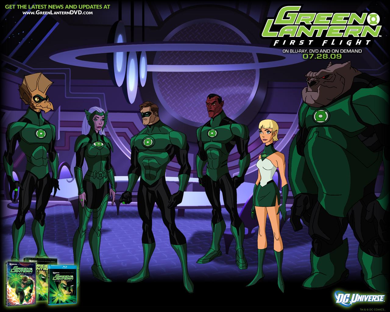 Green Lantern First Flight wallpapers Movie HQ Green Lantern 1280x1024