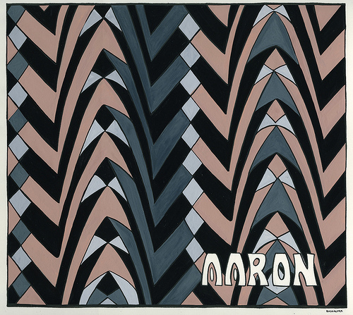 Art Deco Wallpaper Inspired Name Plate   a photo on Flickriver 500x447