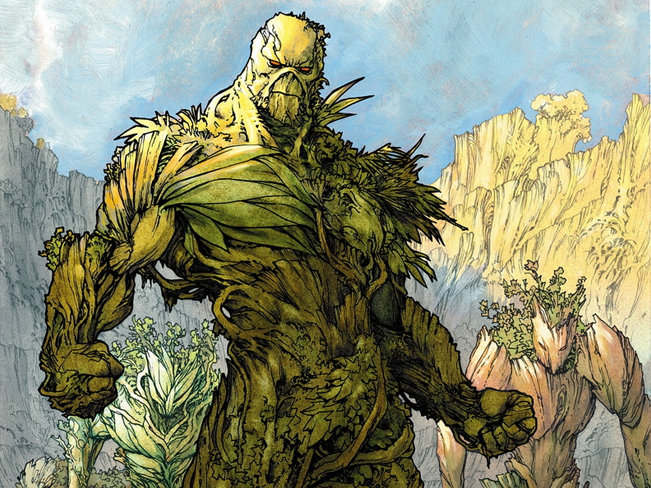 Swamp Thing Computer Wallpapers Desktop Backgrounds 1280x960 ID 1280x960