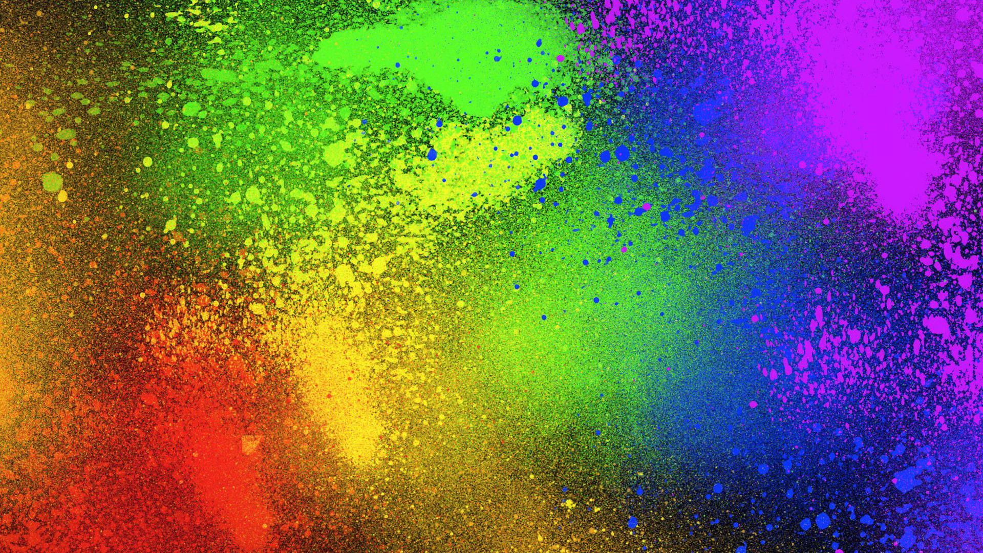 Color splash Widescreen Wallpaper   4781 1920x1080
