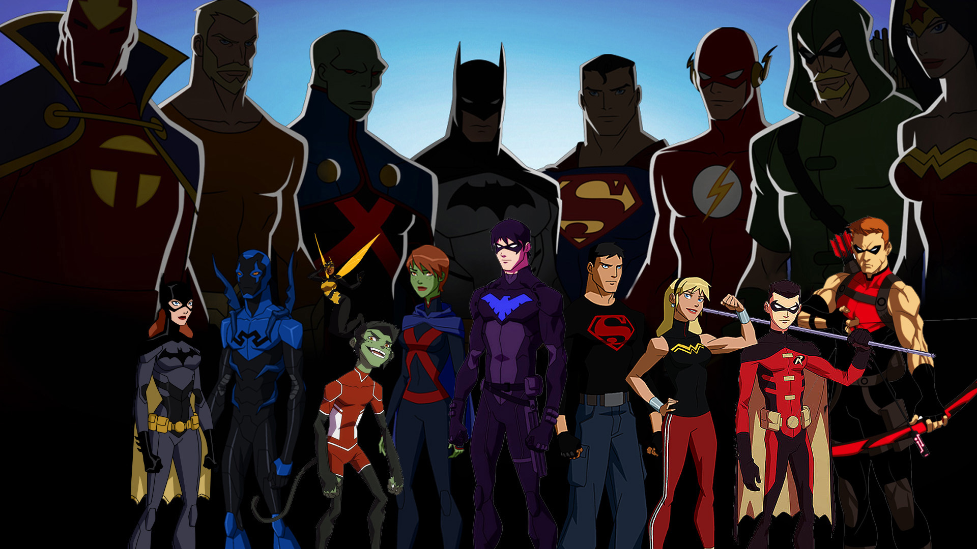 Young Justice Computer Wallpapers Desktop Backgrounds 1920x1080 1920x1080