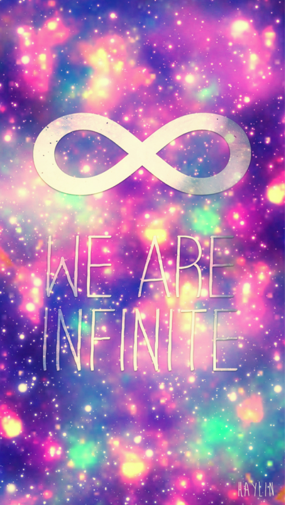Free Download Cocoppa Cute Galaxy Glitter Infinity Love Pink