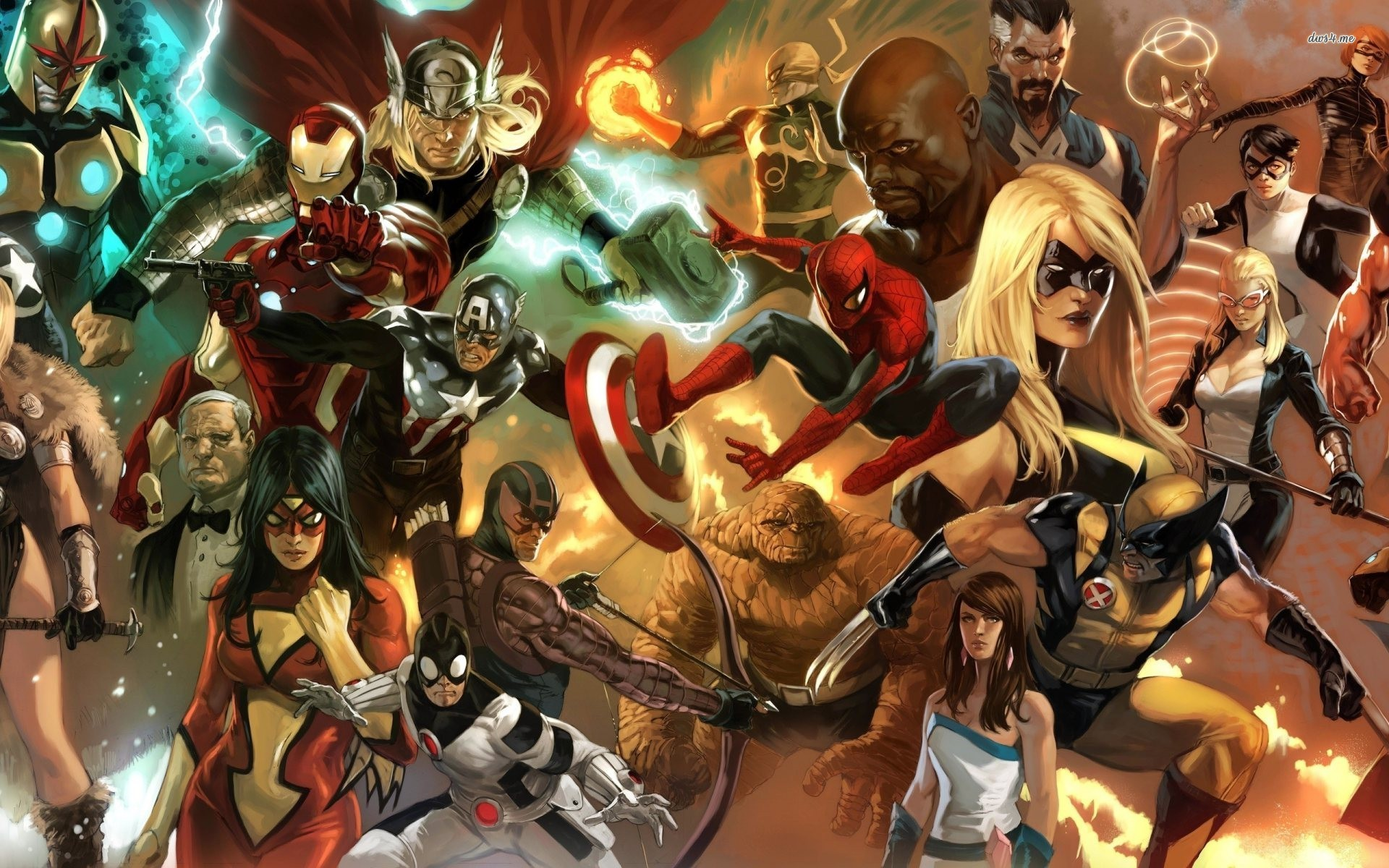 Marvel Hero Wallpapers 1920x1200