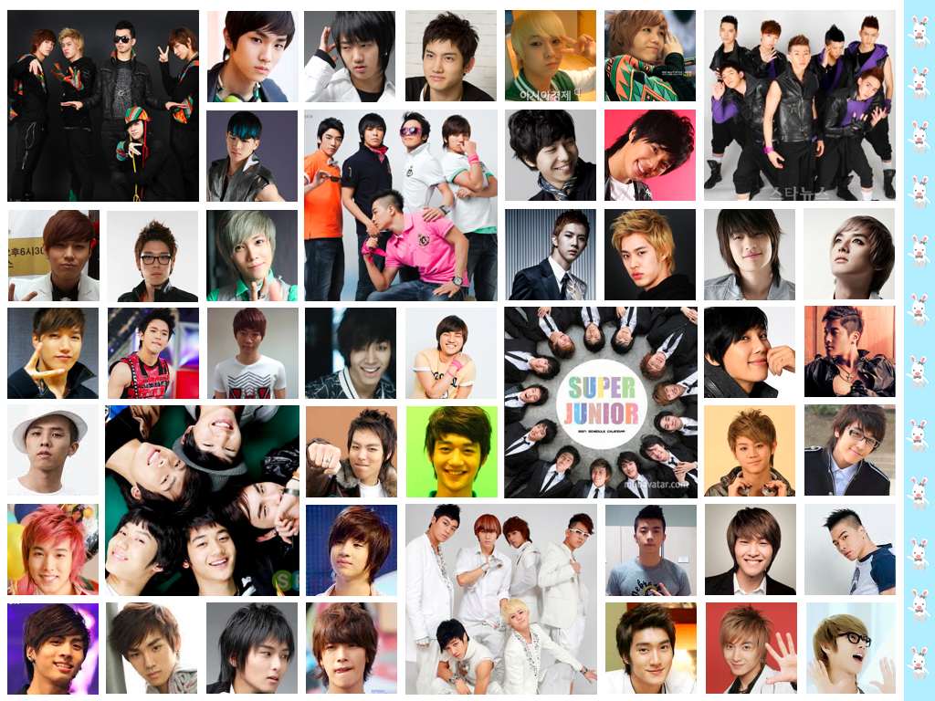 Kpop Collage Wallpaper Kpop Collage Desktop Background 1024x768