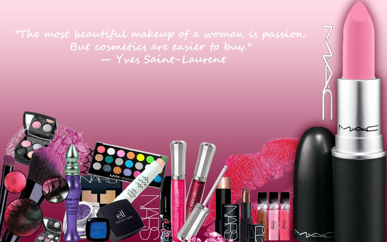 Iphone wallpaper tumblr makeup - Mac Makeup Wallpaper