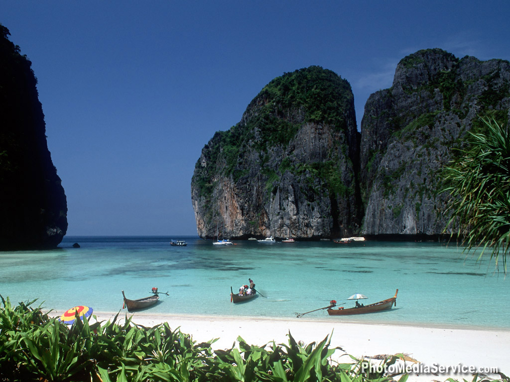 World Visits Thailand Beaches Wallpapers Hd Review 1024x768