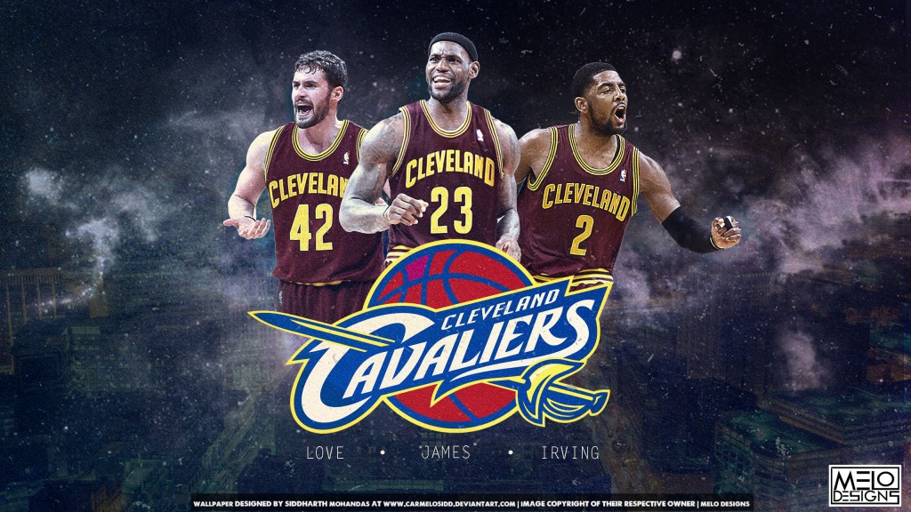 Cleveland Cavaliers Chrome Themes iOS Desktop Wallpapers 1024x576