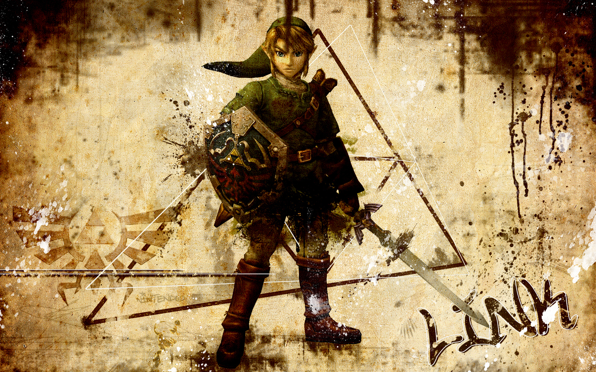 Link   The Legend of Zelda Wallpaper 2833139 1920x1200